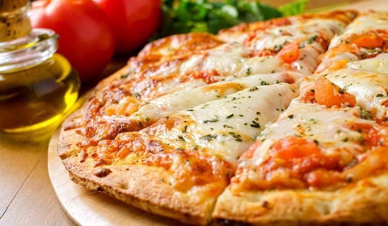 пицца итальянская на тонком тесте