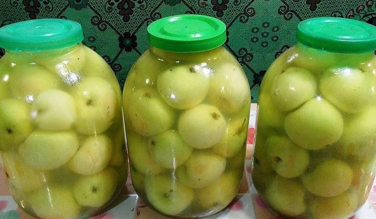 домашние моченые яблочки