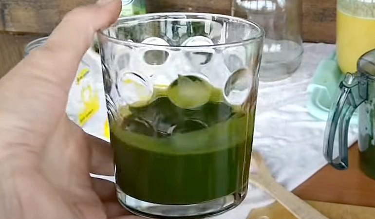 концентрированный сок лопуха