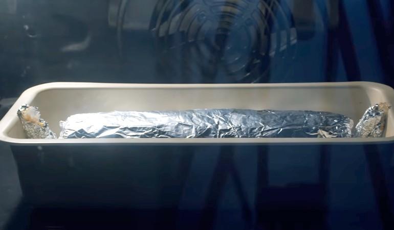 колбаса с желатином в духовке
