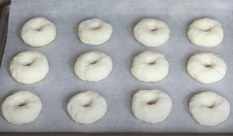 выпекаем творожные пончики