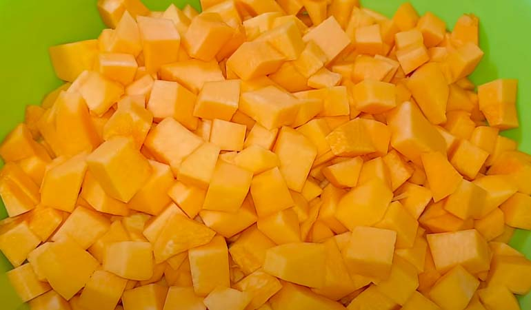 ломтики тыквы для консервации как манго
