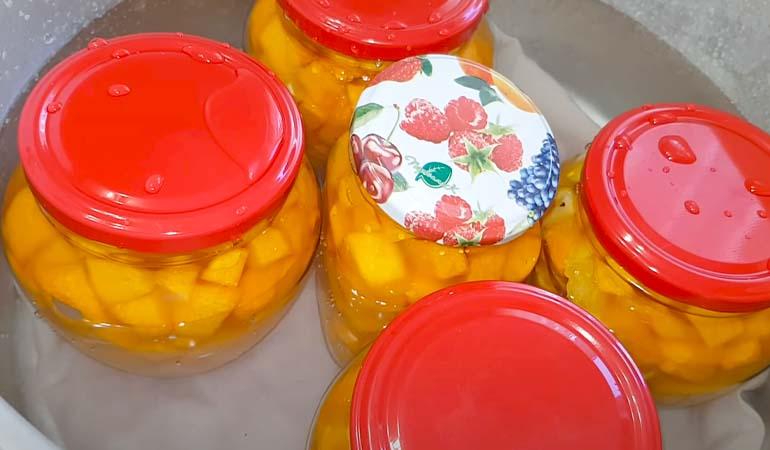 стерилизация тыквы как манго