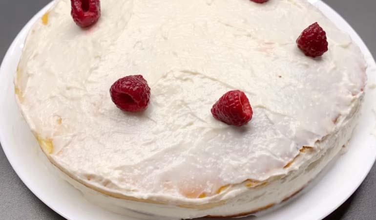 торт на сковороде за 15 минут